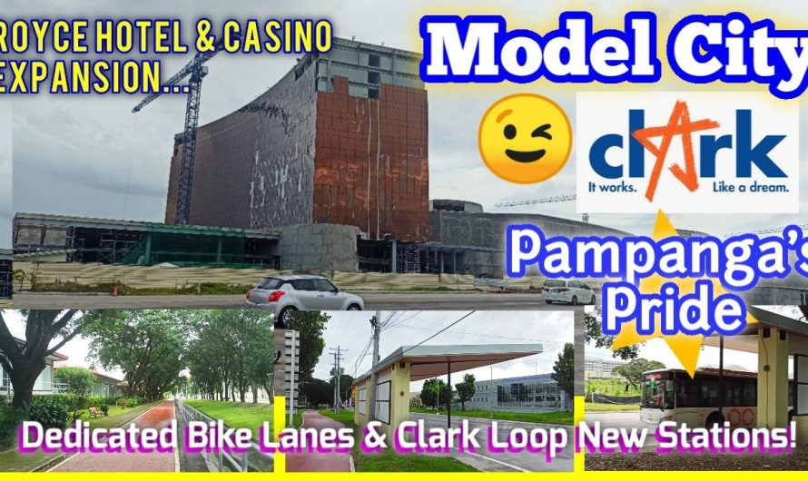 Model City CLARK! Featuring Royce Hotel & Casino Expansion, Bike Lanes and Clark Loop New Stations!